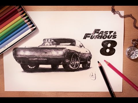 "Speed Drawing ""Fast & Furious"""