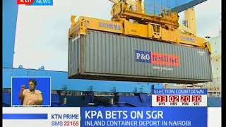 KPA banking on the introduction of the SGR fright operations to boost cargo offtake
