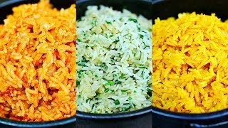 3 Amazing Rice Recipes - Easy Rice Side Dishes