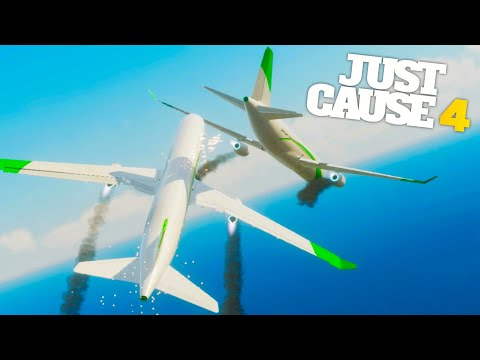 Just Cause 4 - AIRPORT AND OCEAN AMBUSH