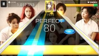 (First Attempt) Superstar SMtown - F(x) Kick (Hard) OMFG SO HARD.