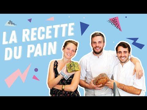 La baguette : la recette du pain par un boulanger dans sa boulangerie