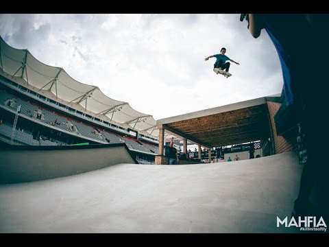 X Games 2015 Womens Street Skate Practice