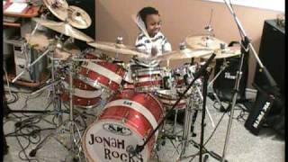 Gambar cover System of a Down-Toxicity, Drum Cover, 5 Year Old Drummer, Jonah Rocks