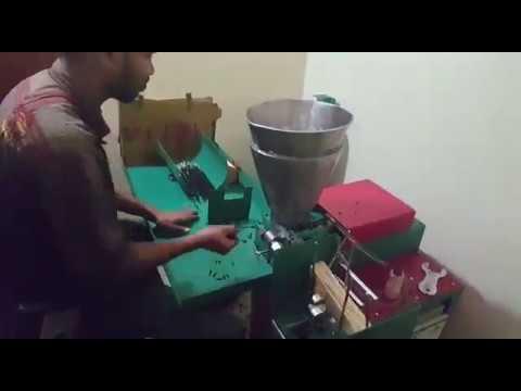 High Speed Automatic Incense Stick Making Machine