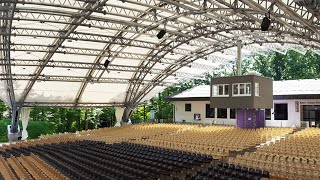 Customer Project: Open-Air Theater Grandstand Roof Structure in Sömmersdorf, Germany