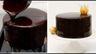 Chocolate Mirror Glaze Cake Recipe | CHOCOLATE HACKS By Cakes StepbyStep