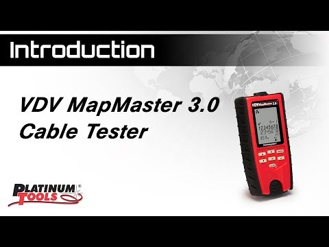 VDV MapMaster 3.0 Cable Tester