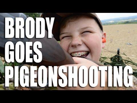 Brody Goes Pigeon-shooting