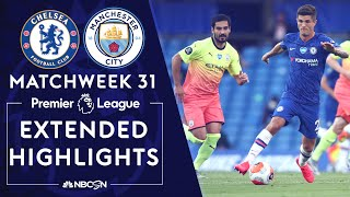 Goals from Christian Pulisic and Willian lifted Chelsea to victory over Man City, sealing Liverpool's 2019-20 Premier League title. #NBCSports #PremierLeague #Chelsea #ManchesterCity » Subscribe to NBC Sports: https://www.youtube.com/nbcsports?sub_confirmation=1 » Watch Live Sports on NBCSports.com: http://www.nbcsports.com/live » Get more Premier League news on NBC Sports: https://nbcsports.com/soccer/premier-league  Want more Premier League? Check out NBC Sports Gold: https://www.nbcsports.com/gold/premier-league  NBC Sports Group serves sports fans 24/7 with premier live events, insightful studio shows, and compelling original programming. NBC Sports is an established leader in the sports media landscape with an unparalleled collection of sports properties that include the Olympics, NFL, Premier League, NHL, NASCAR, PGA TOUR, the Kentucky Derby, Tour de France, French Open, IndyCar and many more.  Subscribe to our channel for the latest sporting news and highlights!  The Premier League across NBC Sports Group launched in 2013 with their biggest and broadest programming commitment to-date in the United States. With live multi-platform coverage of all 380 games, analysis from best-in-class talent and extensive surrounding coverage all week long, NBC Sports Group has become the ultimate destination for new and existing Premier League fans.  The Premier League maintains strong and consistent reach across NBC, NBCSN, CNBC, and NBC Sports Group's live streaming products, led by the biggest stars and most prestigious teams in the world.  Visit NBC Sports: https://www.nbcsports.com Find NBC Sports on Facebook: https://www.facebook.com/NBCSports Follow NBC Sports on Twitter: https://twitter.com/nbcsports Follow NBC Sports on Instagram: https://www.instagram.com/nbcsports/  https://www.nbcsports.com/nfl/sunday-night-football https://nbcsports.com/motors/nascar https://nbcsports.com/soccer/premier-league  Chelsea v. Manchester City | PREMIER LEAGUE HIGHLIGHTS | 6/25/2020 | NBC Sports https://www.youtube.com/nbcsports