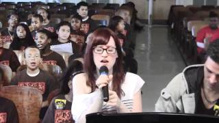 """The Way I Am"" Ingrid Michaelson & PS22 Chorus"