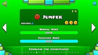Jumper (All coins)   Geomerty Dash    ZuritaX ツ