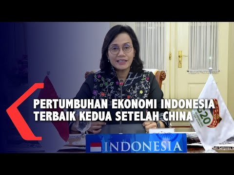 sri mulyani sebut ekonomi indonesia terbaik kedua di antara g setelah china