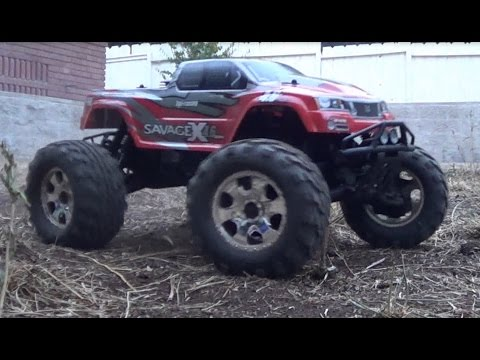Braaap! New RC Toy - HPI Savage X 4.6 Nitro Monster Truck