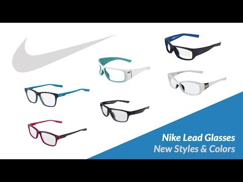 Some of our available Nike x-ray protection glasses