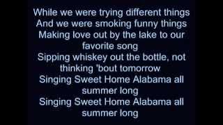 "Video thumbnail of ""Kid Rock  All Summer Long - Lyrics"""