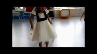Cute Ivory White Cap Sleeve Flower Girl Girls First Communion Dresses SKU-10501217