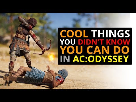 CRAZY Things You Can Do In AC Odyssey!