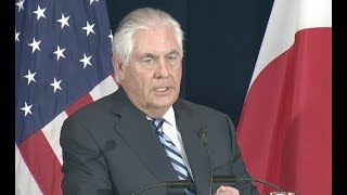 "Tillerson, Mattis Say Bannon Wrong On North Korea: US ""Prepared Militarily"" - Full News Conference"