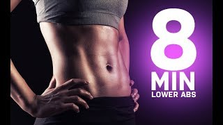 8 Minute Lower Abs Workout (FLATTEN THE LOWER BELLY!!) by Athlean-XX for Women