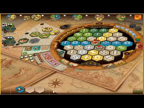Board Game Tutorial: Learn How to Play Castles of Burgundy Part 1 - Actions