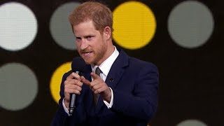 Prince Harry's Invictus Games opening speech