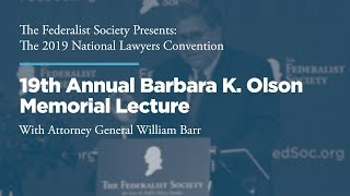 Click to play: 19th Annual Barbara K. Olson Memorial Lecture