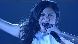 "MARLISA'S INCREDIBLE VOICE - ""Impossible"" X Factor Australia Semi Finals"
