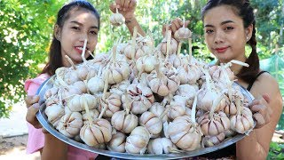 Yummy cooking garlic with beef recipe - Cooking skill