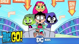 Teen Titans Go! | Ghosts Of Black Friday | DC Kids