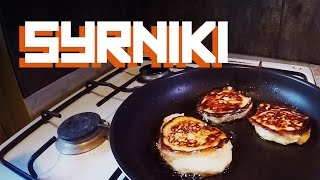 MAKE SYRNIK AT VADIM'S PLACE - Russian Syrniki simple recipe