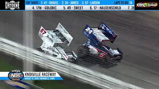 Knoxville Raceway 410 Highlights - The One and Only Night #2 - August 14, 2020