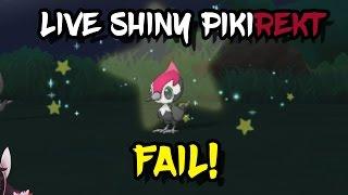 Shiny Pikipek gets BRUTALLY MURDERED [SHINY FAIL] - Pokémon Sun & Moon Highlight