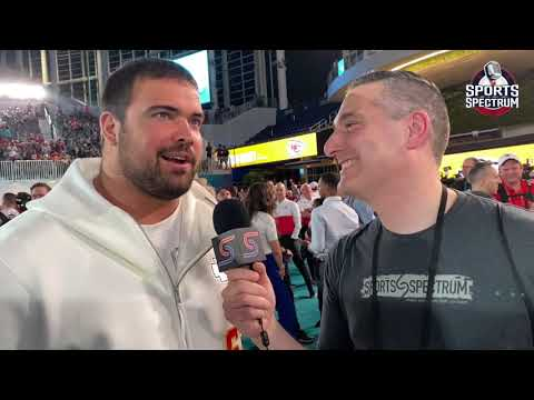 Chiefs Offensive Lineman Stefen Wisniewski Shares His Faith at Super Bowl Opening Night