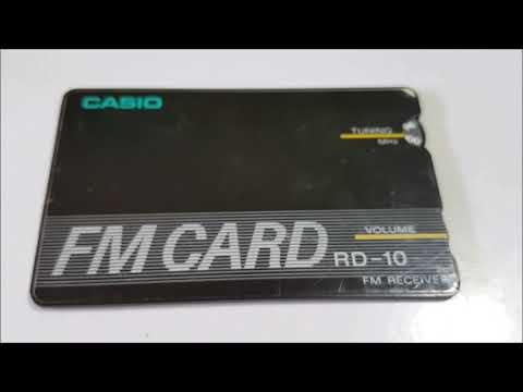Casio FM card RD-10