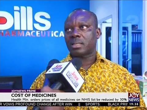 Cost of Medicines – Joy Business Prime (2-7-18)
