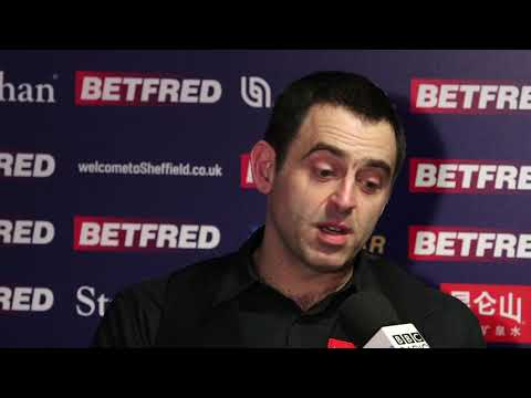 Food, Living forever and Singing...classic Ronnie O'Sullivan - Full Press Conference
