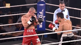 Vinkeveense bokser Steve wint afscheidspartij