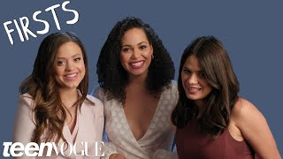 Teen Vogue | The Cast of Charmed on Their First Auditions and Meeting Each Other
