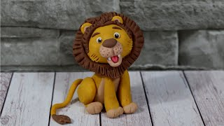 Cute Lion Cake Topper