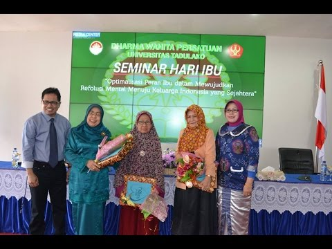 Dok Humas Untad, Memperingati Hari Ibu Pesan Rektor Untad Prof. Dr. Ir. Muhammad Basir Cyio, SE. MS. Lebih Bagus Diisukan Korupsi tetapi tidak Korupsi dari Pada tidak diisukan Korupsi Tetapi Sesungguhnya  Korupsi