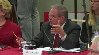 Menendez Blasts Tax Conference Process