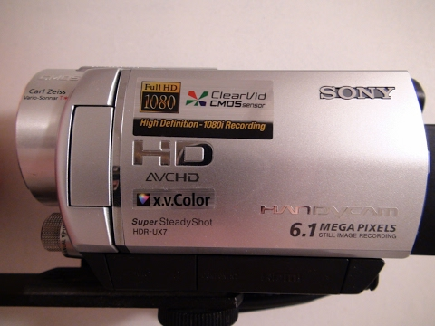 2007 Sony Handycam HDR UX7 Dvd Camcorder Review