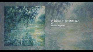 24 Caprices for Solo Violin, Op. 1