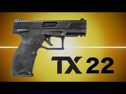 Taurus Debuts Their New TX22 Pistol