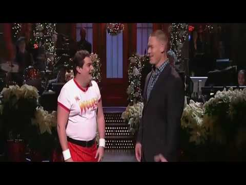John Cena Spent His Monologue Fending Off Wrestling Challenges From The  SNL  Cast