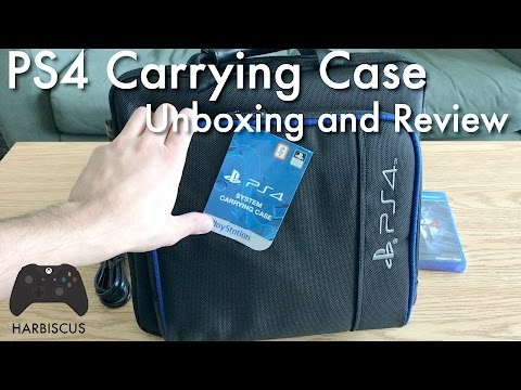 PS4 Carrying Case - Unboxing and Review