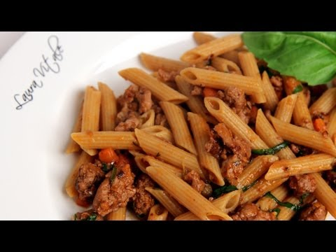Turkey Ragu Recipe – Laura Vitale – Laura in the Kitchen Episode 298