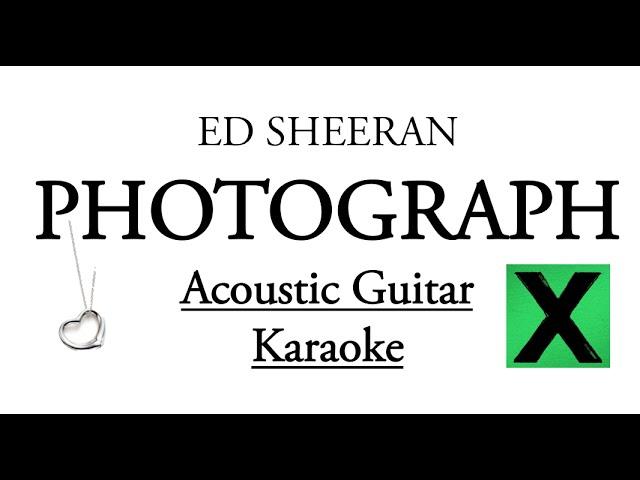 Photograph ed sheeran karaoke no vocal dangdut