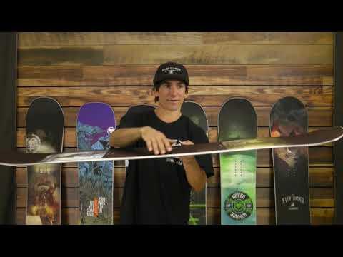 Never Summer Warlock X Snowboard - Men's